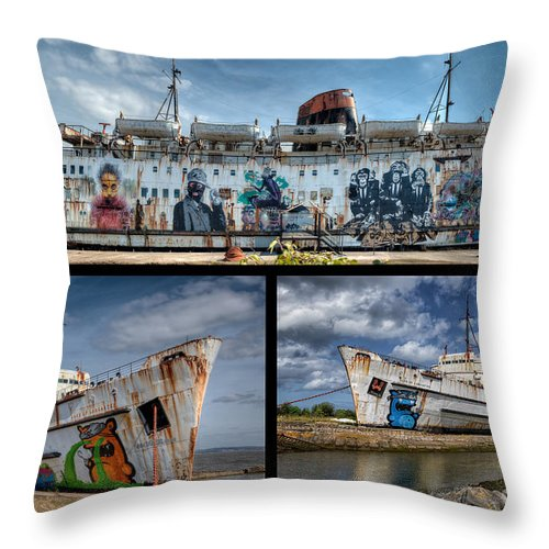 2012 Throw Pillow featuring the photograph Duke Of Lancaster by Adrian Evans