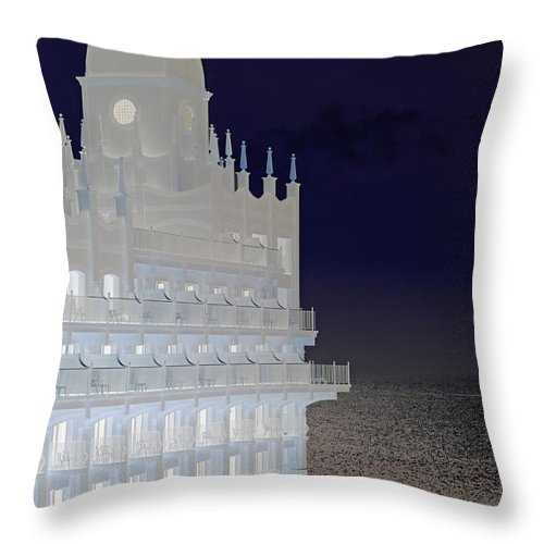 Palace Throw Pillow featuring the photograph East Palace by Carolyn Stagger Cokley