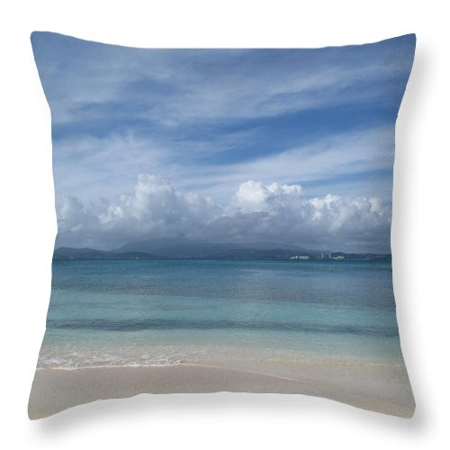 Ocean Throw Pillow featuring the photograph Felicity by Jean Macaluso