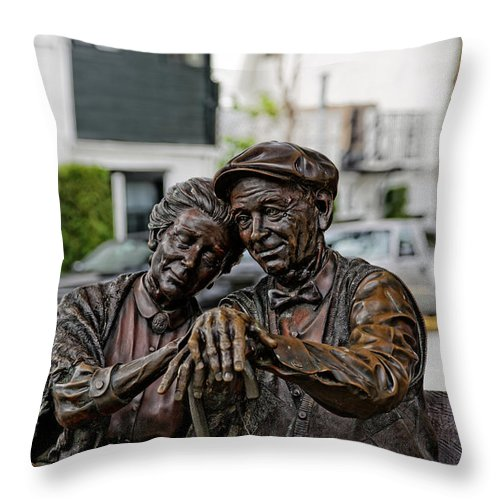 Love Throw Pillow featuring the photograph Forever Young by Scott Hill
