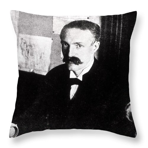 History Throw Pillow featuring the photograph Gifford Pinchot American by NPS Photo