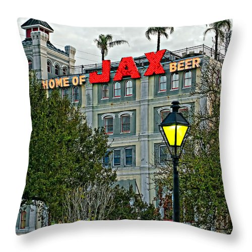 French Quarter Throw Pillow featuring the photograph Home Sweet Home by Steve Harrington