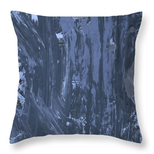 Original Throw Pillow featuring the painting Make Up by Artist Ai