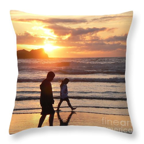 Brilliant Throw Pillow featuring the photograph Meditation by Dona Dugay
