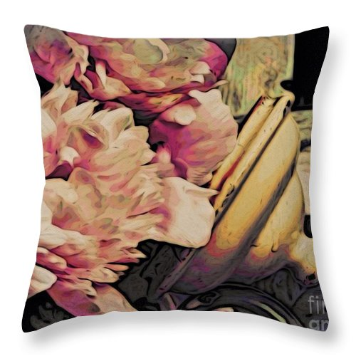 Flowers Throw Pillow featuring the photograph Mh290814 by Jim Hansen
