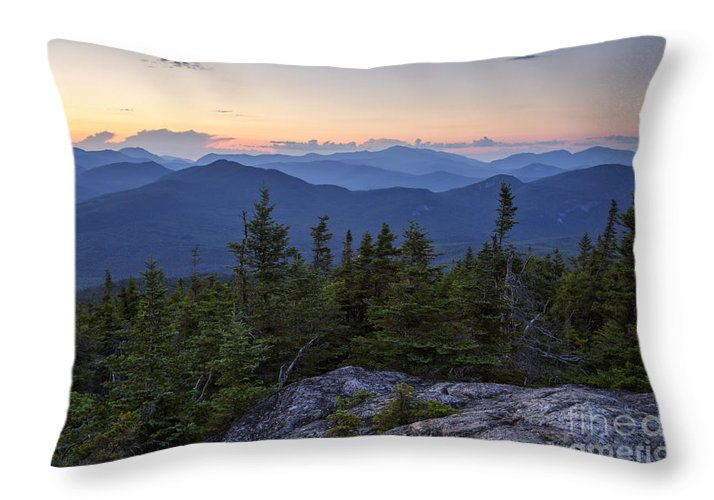 Middle Sister Trail Throw Pillow featuring the photograph Mount Chocorua Scenic Area - Albany New Hampshire Usa by Erin Paul Donovan