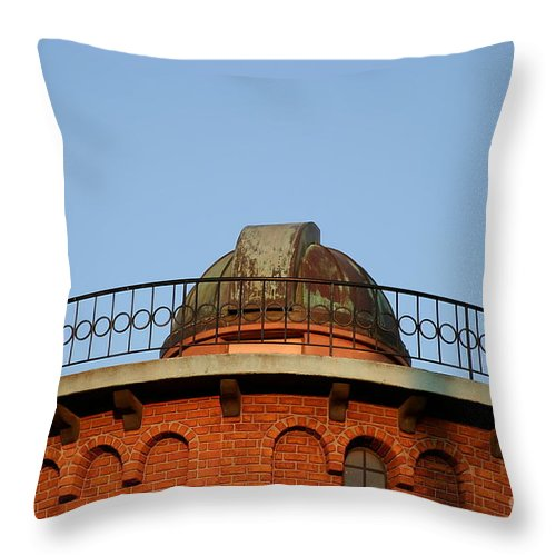 Architecture Throw Pillow featuring the photograph Old Observatory by Henrik Lehnerer