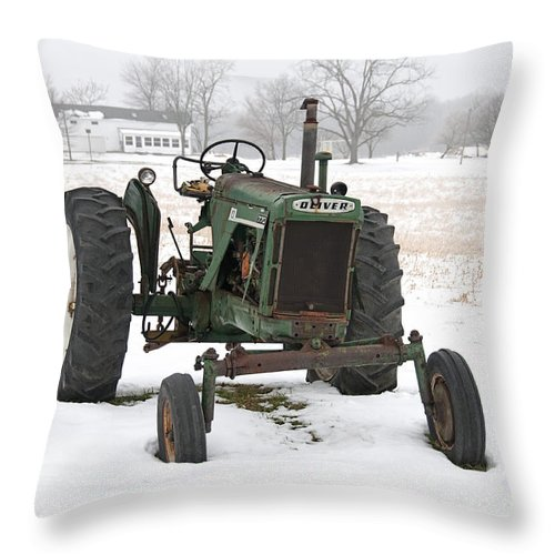 Oliver Throw Pillow featuring the photograph Oliver by David Arment