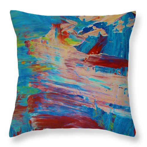Original Throw Pillow featuring the painting Original by Artist Ai