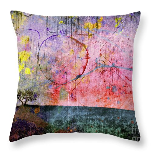 Tree Throw Pillow featuring the photograph Perceptions by Tara Turner