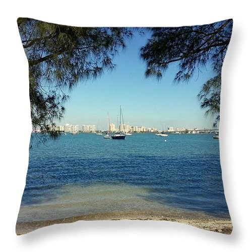 Sail Throw Pillow featuring the photograph Relax by Daniel Jakus