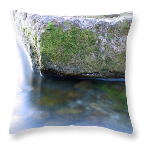 Rock Throw Pillow featuring the photograph Rock by John Carocci