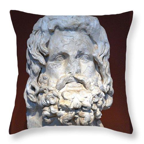 Sarapis Throw Pillow featuring the photograph Sarapis by Andonis Katanos