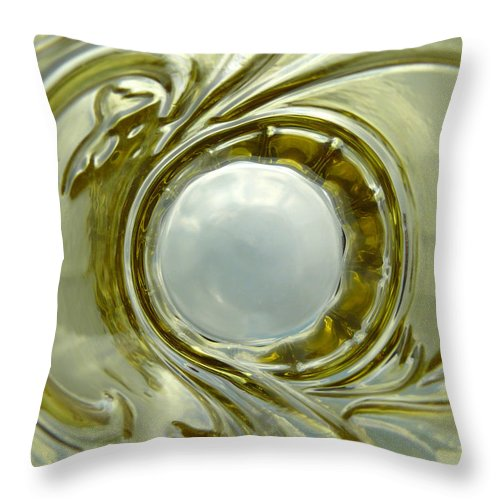 Snowball Throw Pillow featuring the photograph Snowball by Carlos Vieira