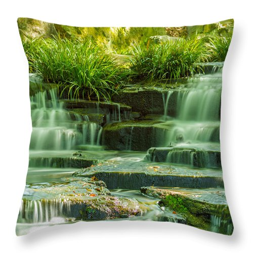 Japan Throw Pillow featuring the photograph Solitude by Jonah Anderson