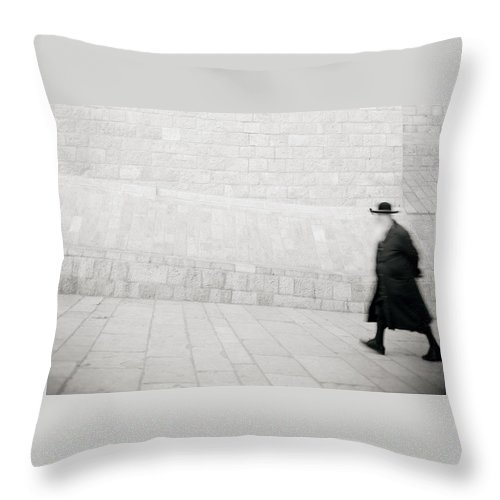 Jerusalem Throw Pillow featuring the photograph Solitude by Shaun Higson