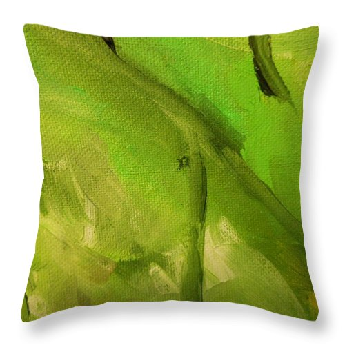 Paintings By Lyle Throw Pillow featuring the painting Spring by Lord Frederick Lyle Morris - Disabled Veteran