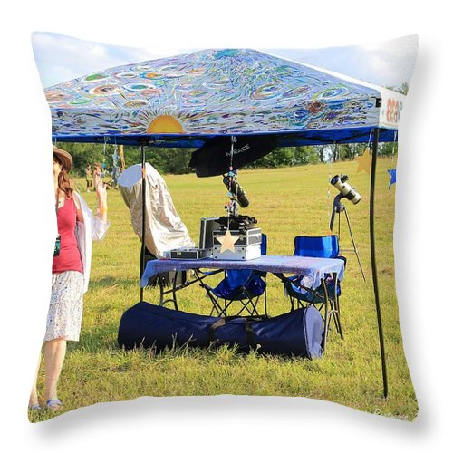 Star Hoppin Rw2k14 Throw Pillow featuring the photograph Star Hoppin Rw2k14 by PJQandFriends Photography