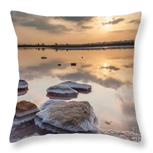 Throw Pillow featuring the photograph Sunset by Eugenio Moya