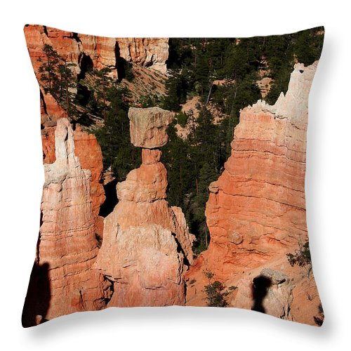 Thors Hammer Throw Pillow featuring the photograph Thors Shadow by Jemmy Archer