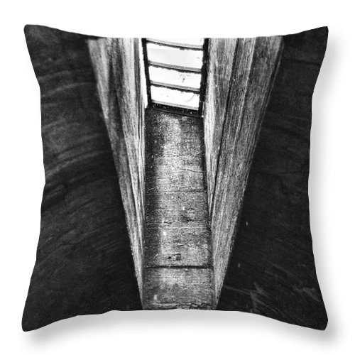 Window Throw Pillow featuring the photograph Through The Pane by Scott Wyatt