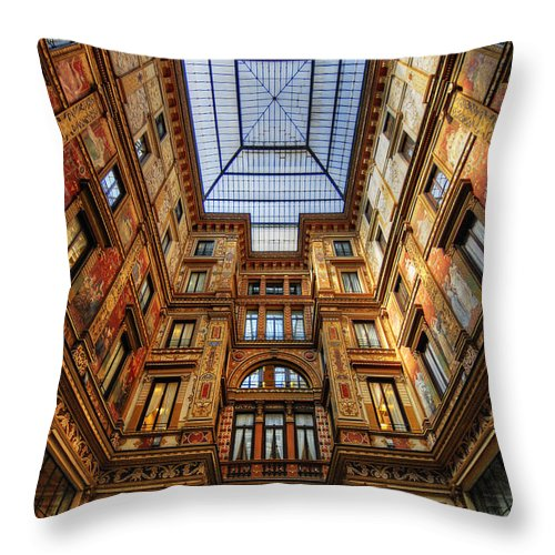 Rome Throw Pillow featuring the photograph To The English Fashion by Kyla Applegate