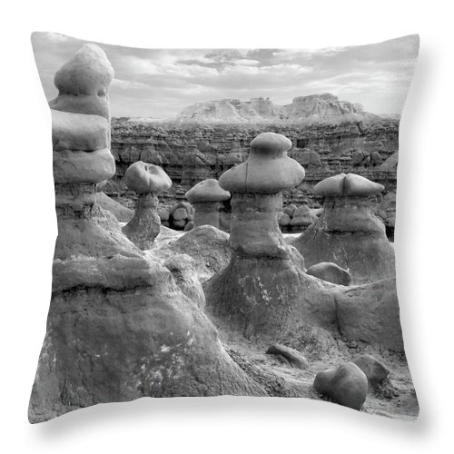 Goblins Throw Pillow featuring the photograph Utah Outback 24 by Mike McGlothlen