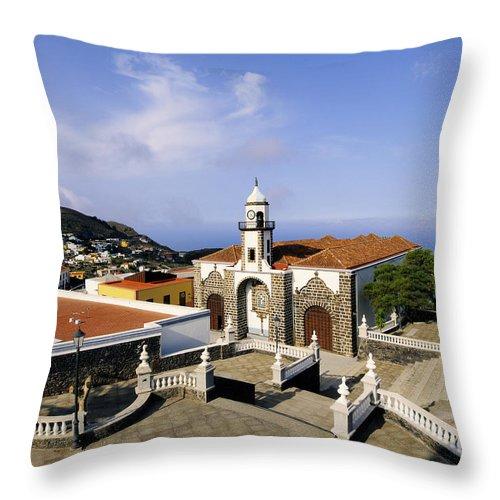 Island Throw Pillow featuring the photograph Valverde by Karol Kozlowski