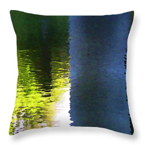 Rivers Throw Pillow featuring the photograph Water by Joe Bledsoe