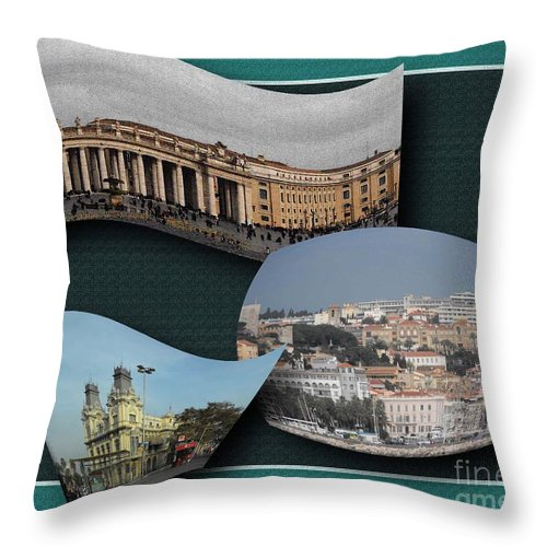 Vacation Throw Pillow featuring the photograph Wow by Iris Gelbart