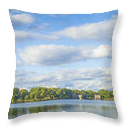 Nuview Throw Pillow featuring the photograph Central Park by Theodore Jones