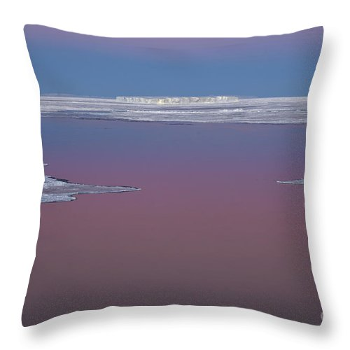 Sky Throw Pillow featuring the photograph Antarctica by John Shaw