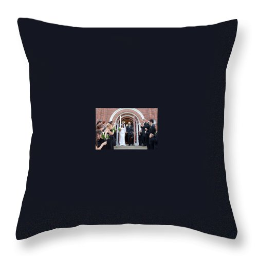 Throw Pillow featuring the photograph 13 by Michael Dorn
