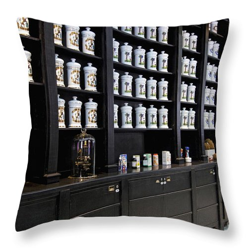 Porcelain Throw Pillow featuring the photograph 130215p015 by Arterra Picture Library