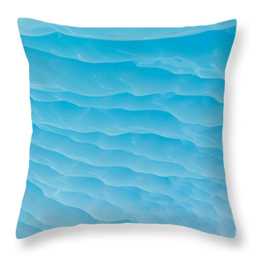 Antarctica Throw Pillow featuring the photograph Iceberg by John Shaw