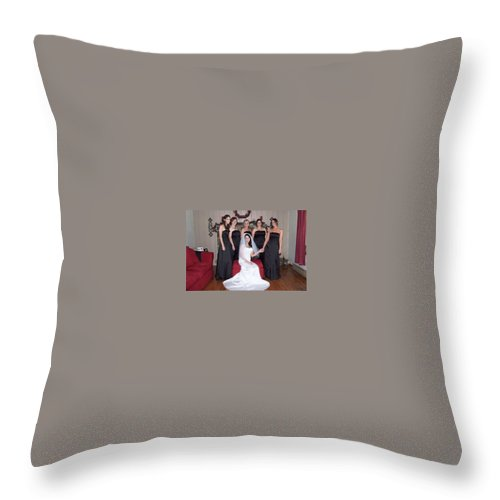 Throw Pillow featuring the photograph 18 by Michael Dorn