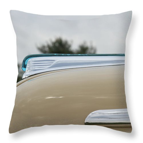 Ford Throw Pillow featuring the photograph 1947 Ford by Jack R Perry