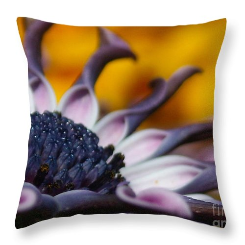 Flower Throw Pillow featuring the photograph Beautiful by Line Gagne