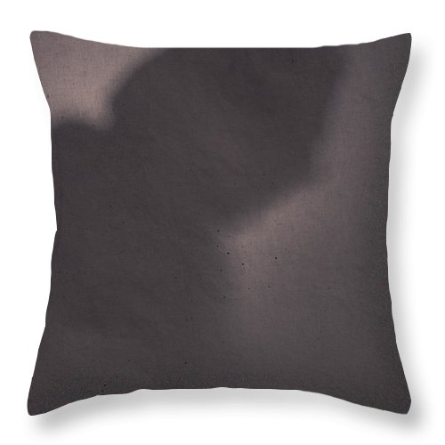 Outline Throw Pillow featuring the photograph Deep In Thought by David Kehrli
