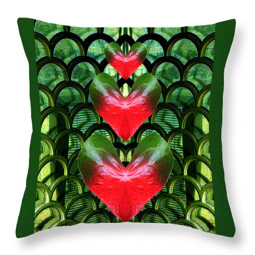 Scottish Art Throw Pillow featuring the digital art Family by Rodger Insh