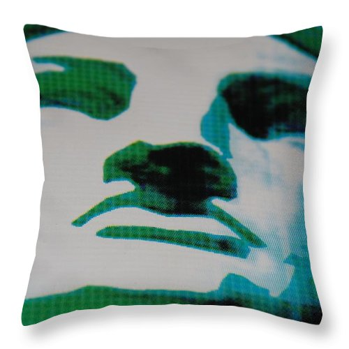 Statue Of Liberty Throw Pillow featuring the photograph Lady Liberty by Rob Hans