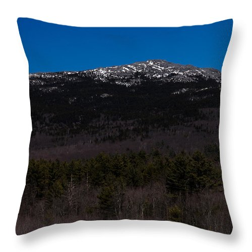 Mount Monadnock Throw Pillow featuring the photograph Mount Monadnock by Tom Wilder