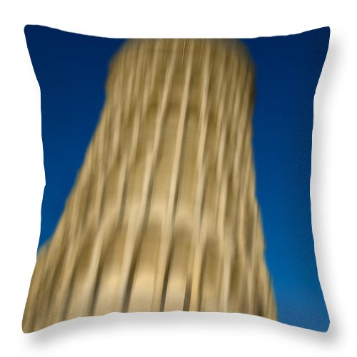 Pisa Throw Pillow featuring the photograph Pisa Tower by Mats Silvan