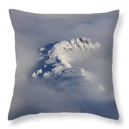 Rocky Mountains Throw Pillow featuring the photograph Rocky Mountain High by James BO Insogna