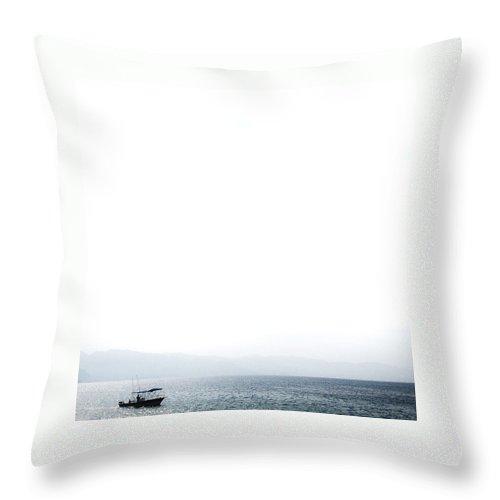 Ocean Throw Pillow featuring the photograph Simplicity by Natasha Marco