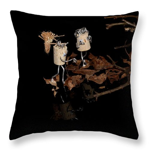 Love Throw Pillow featuring the photograph Szene by Heike Hultsch
