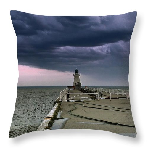 Fireman Throw Pillow featuring the photograph Tracybphotography. by Tracy Bennett