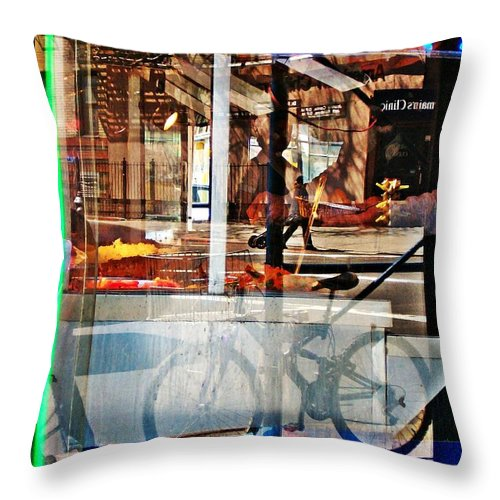 24 Hours Throw Pillow featuring the photograph 24 Hours by Sarah Loft