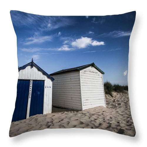 Beach Throw Pillow featuring the photograph 244 Edward II by Dayne Reast