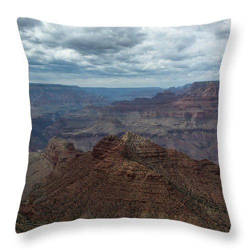 Grandcanyon Throw Pillow featuring the photograph Grand Canyon National Park by Michael Moriarty